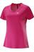 Salomon Agile SS Tee Women yarrow pink/gaura pink
